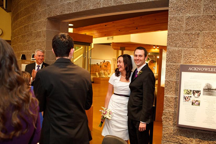 Maidu Indian Museum Roseville wedding photos, Ryanne & Nate at their reception