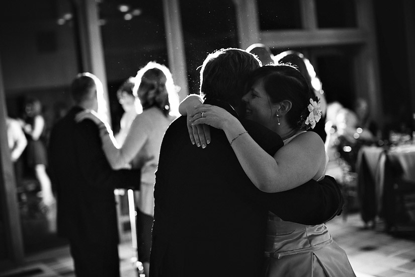 edgewood wedding photo of abby and her dad dancing