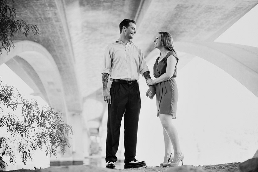 old folsom engagement photo at lake natoma