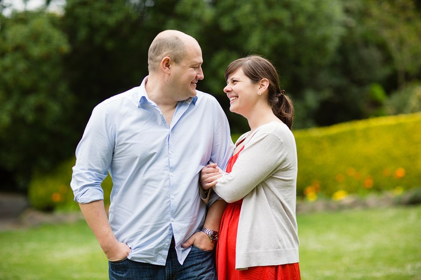 golden gate park engagement photography of abby and craig