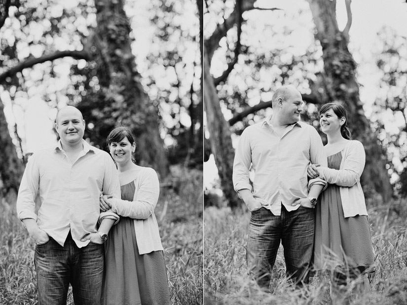 golden gate park engagement photos of abby and craig