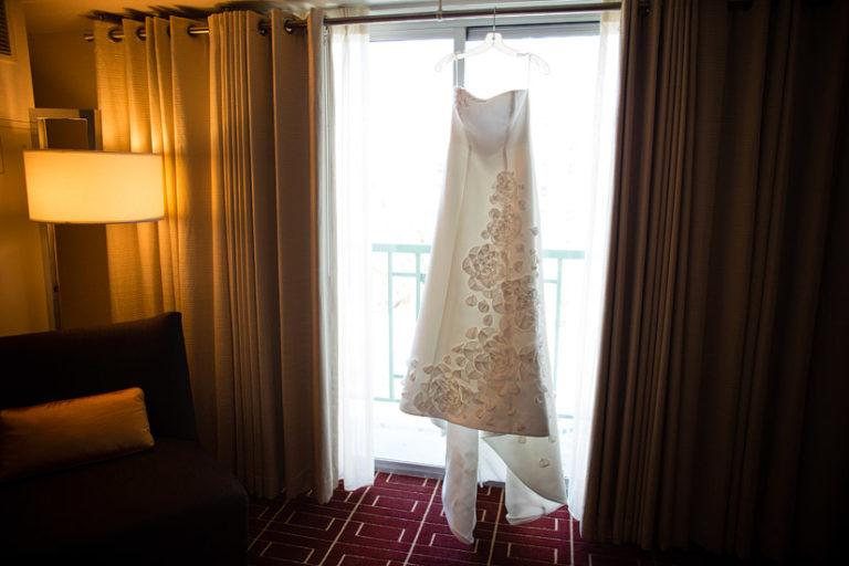 hyatt sacramento wedding photography, brenda's wedding dress