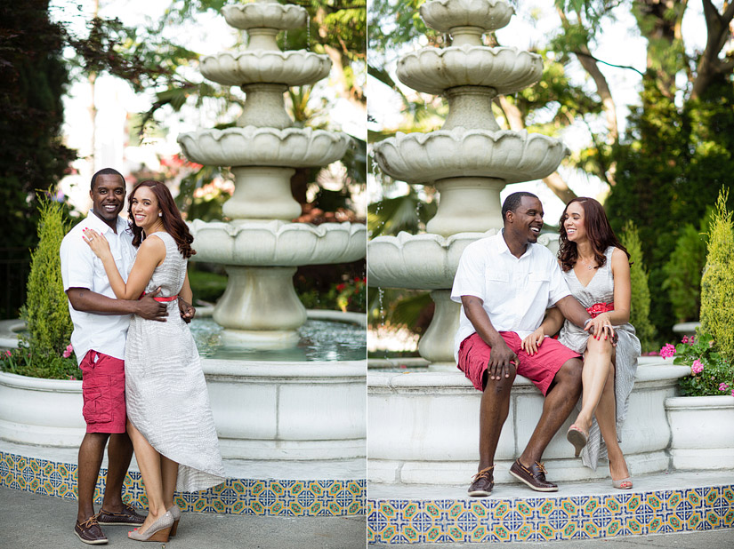 sacramento engagement photography, tower theater images