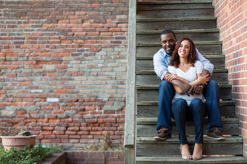 sacramento engagement photography of cassie and brandon in old sacramento