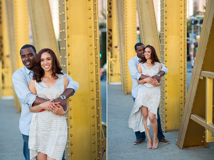 sacramento engagement photos by tower bridge cassie and brandon