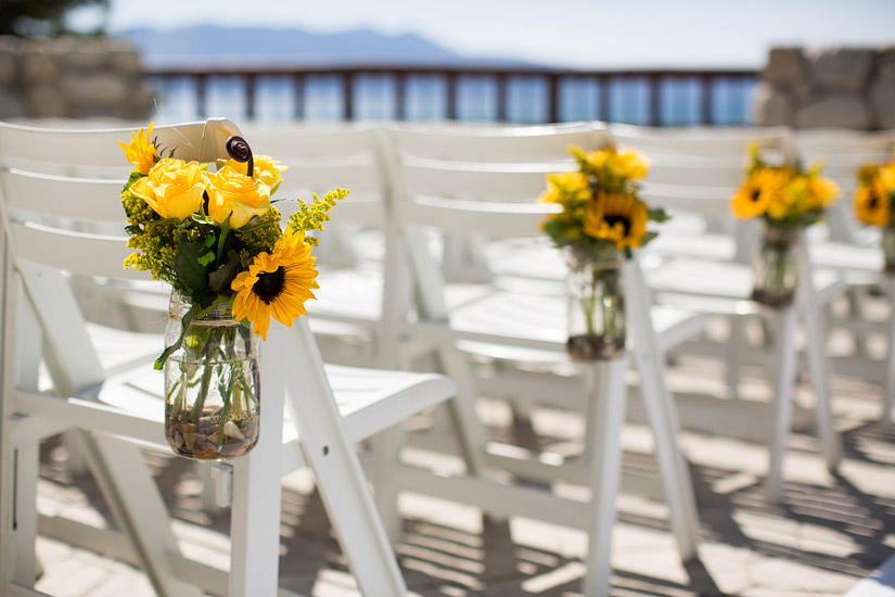 edgewood lake tahoe wedding ceremony photos of the north room