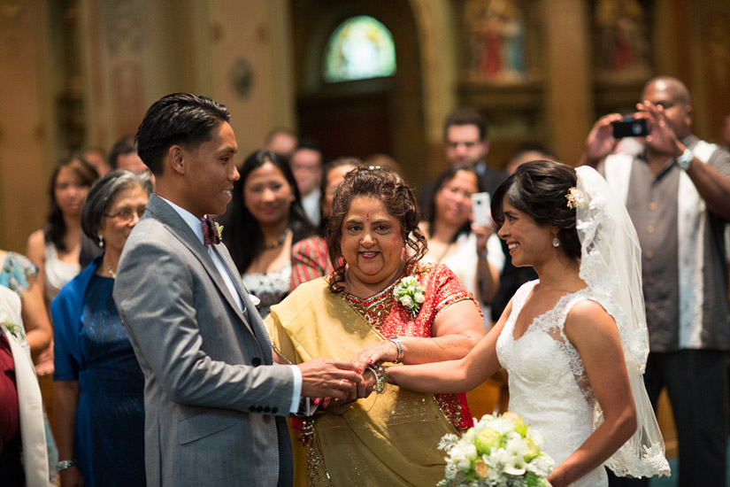 st francis of assisi parish sacramento wedding photo