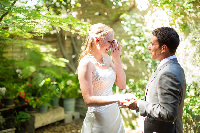 rita and adam's first look, Placerville weddings