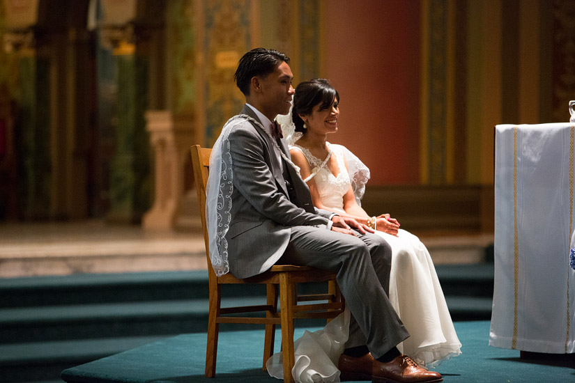 st francis of assisi sacramento wedding photo