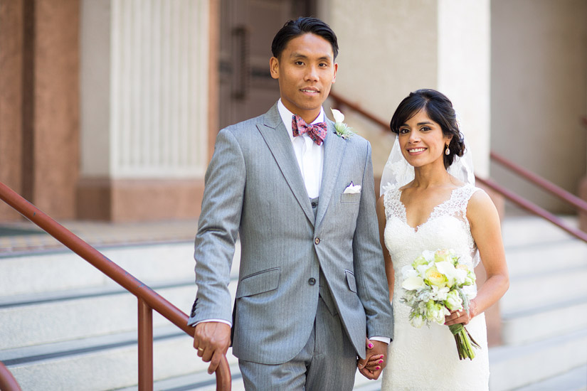 john paul and puja's st francis of assisi sacramento wedding photo
