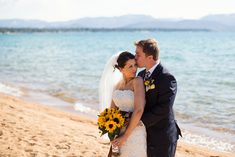 lake tahoe beach weddings, edgewood golf course photos