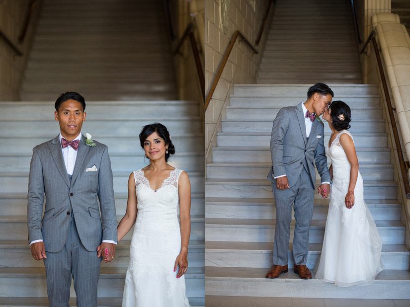 puja & john paul's sacramento masonic temple wedding photography