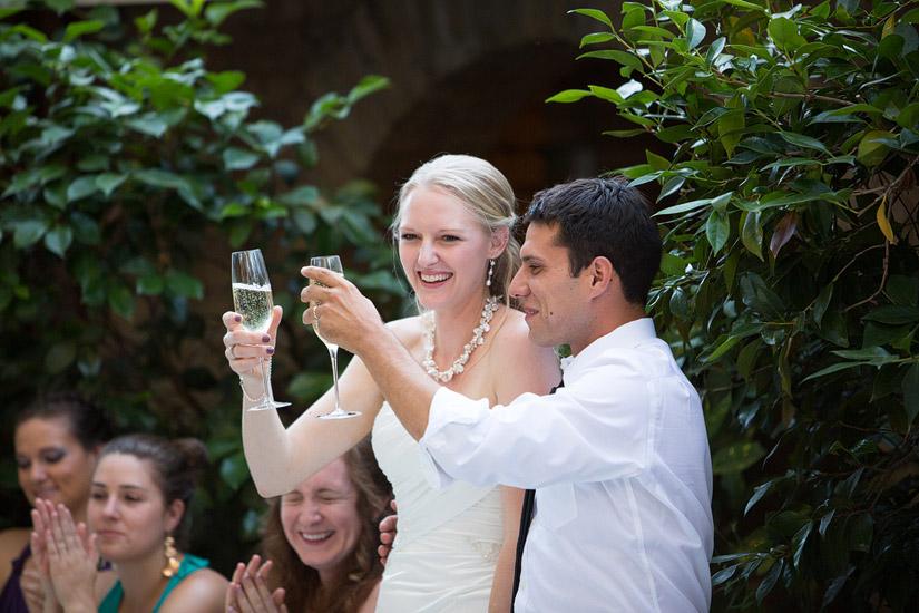 placerville wedding photographer, adam & rita's wedding reception speeches