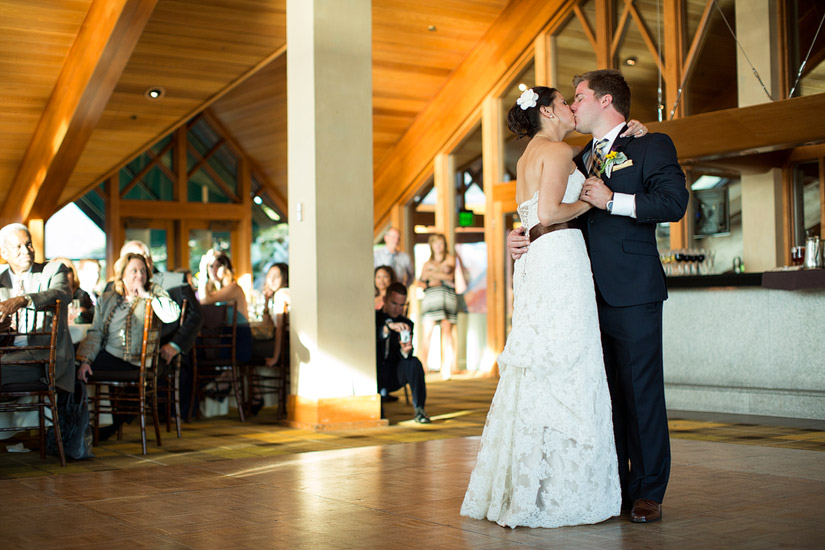 edgewood wedding photography, andrea & joe's first dance
