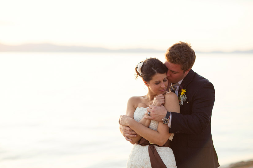 edgewood golf course wedding photos, lake tahoe beach wedding