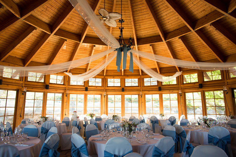 david walley's hot springs wedding photos, reception area