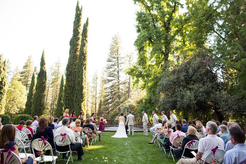 Empire Mine Wedding ceremony site