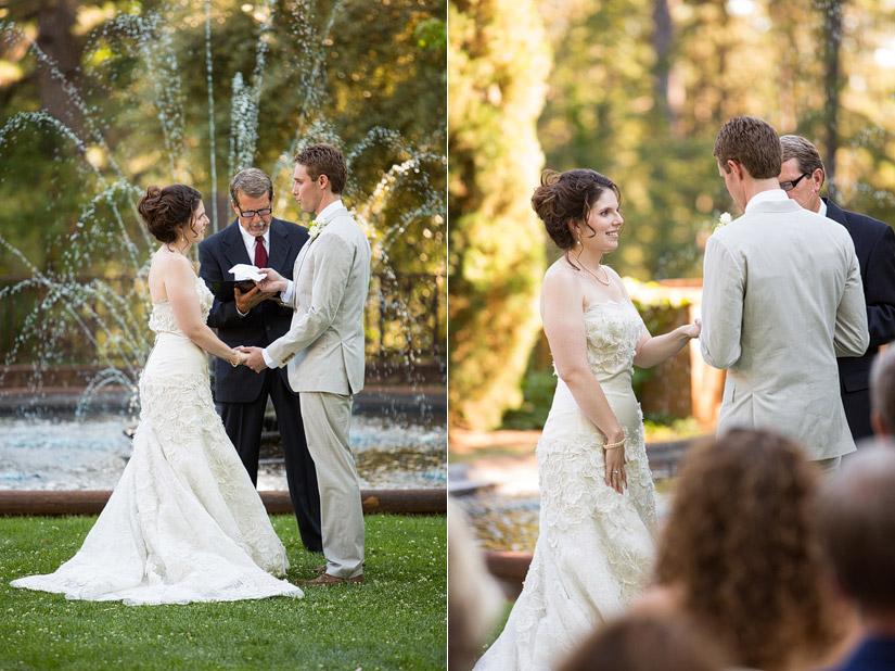 Empire Mine Wedding ceremony Photos