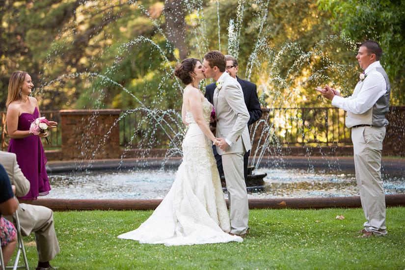Empire Mine Wedding ceremony photography