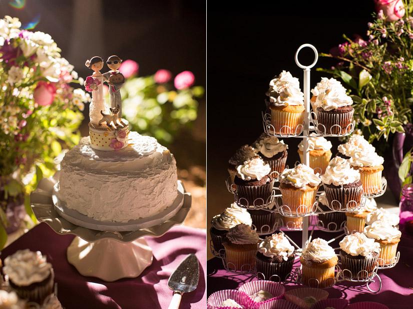 empire mine wedding cake photos