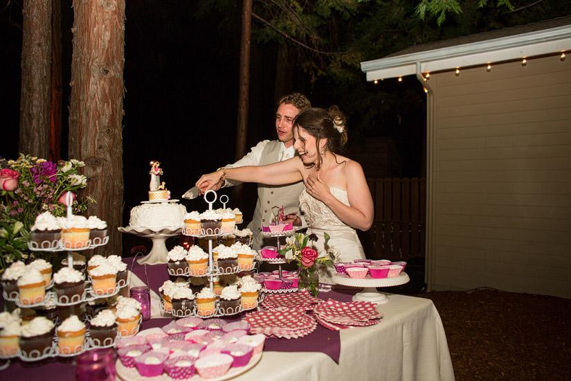 Empire Mine Wedding Photo