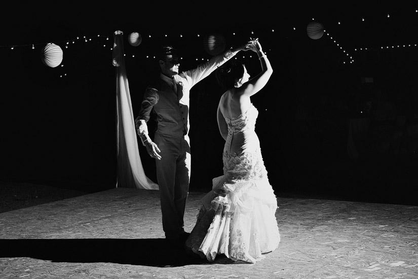 Empire Mine Wedding first dance