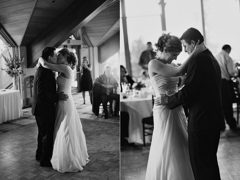 a first dance at a edgewood wedding