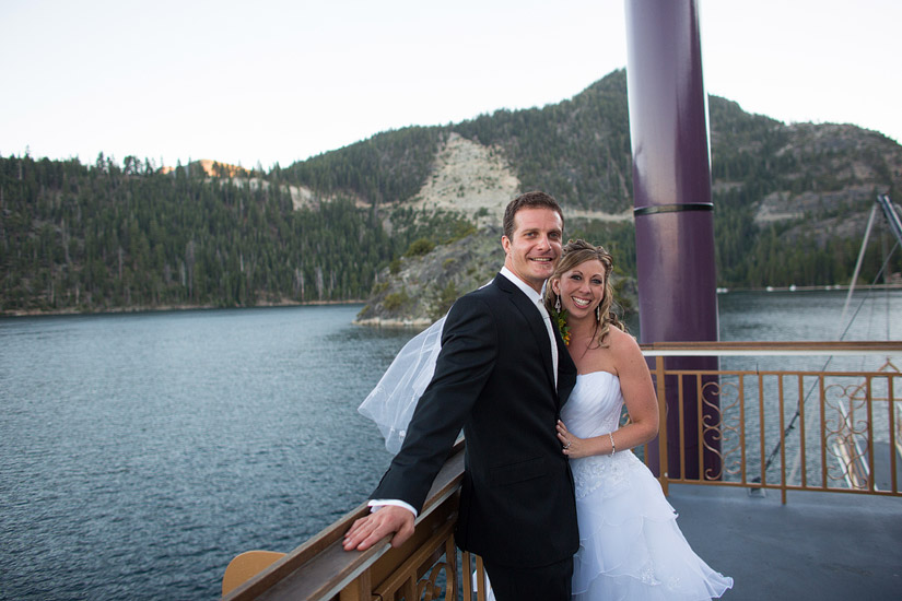 tahoe queen wedding in emerald bay photo