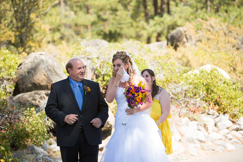 lake tahoe wedding ceremony photos