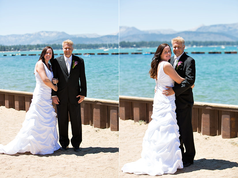 lakeside beach weddings tahoe