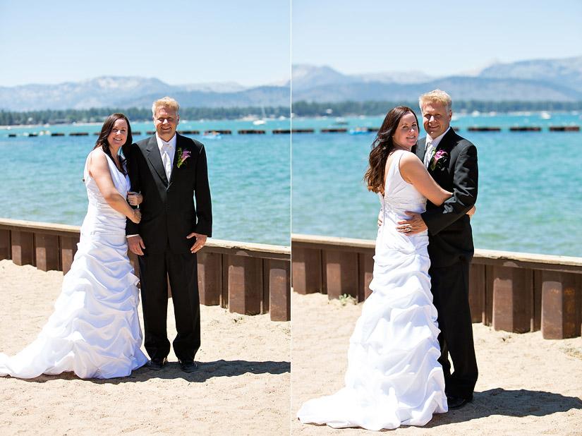 lakeside beach weddings tahoe