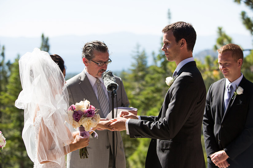 tahoe mountain home weddings