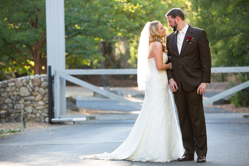 napa valley ranch wedding photos