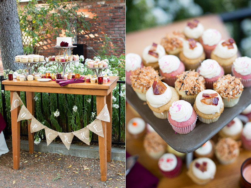 wedding cup cake photos