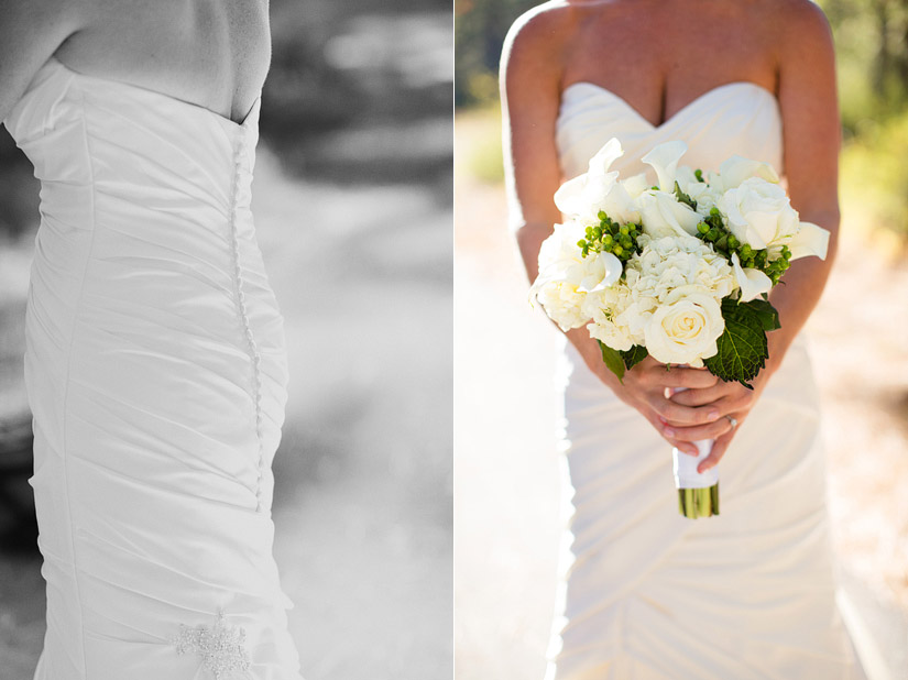 lake tahoe wedding detail photos