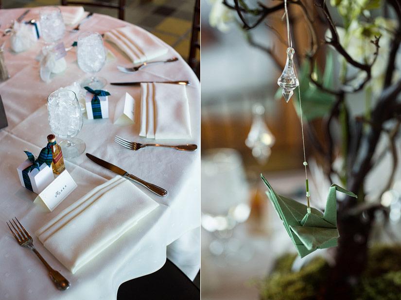 north room wedding reception at edgewood