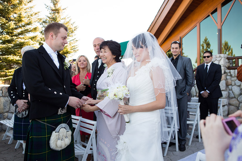 south lake tahoe wedding photos