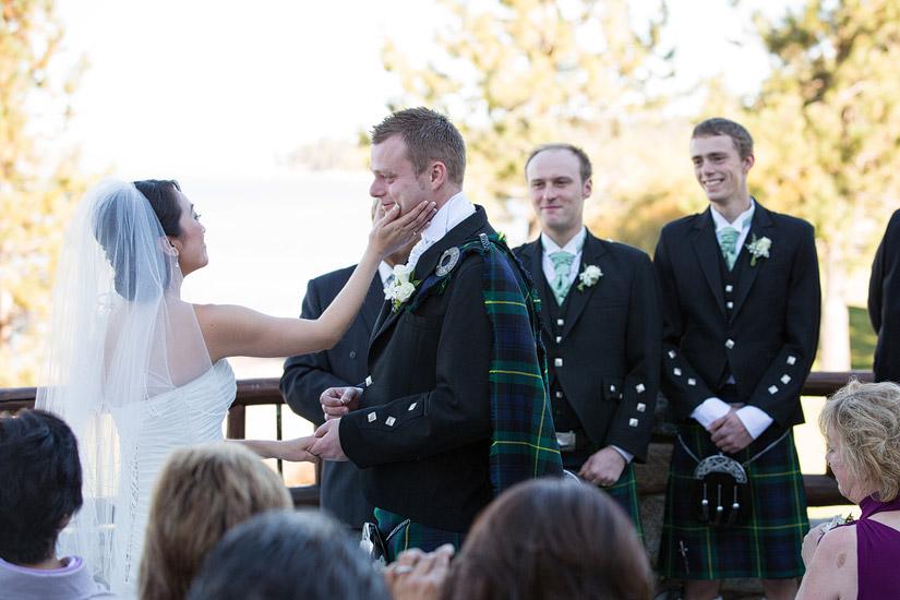 edgewood tahoe wedding ceremony north room