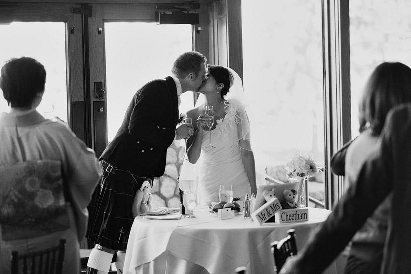 north room edgewood tahoe wedding reception photos