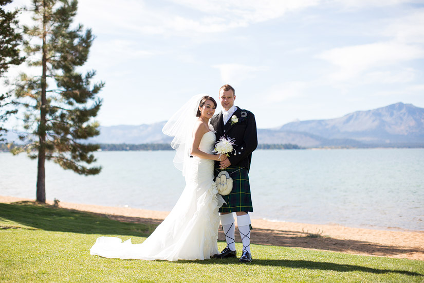 edgewood tahoe wedding photos