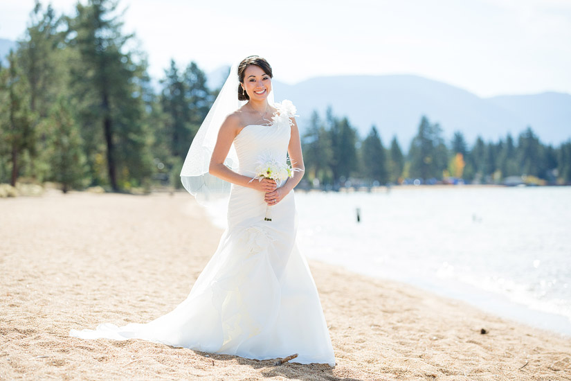 lake tahoe bridal photography