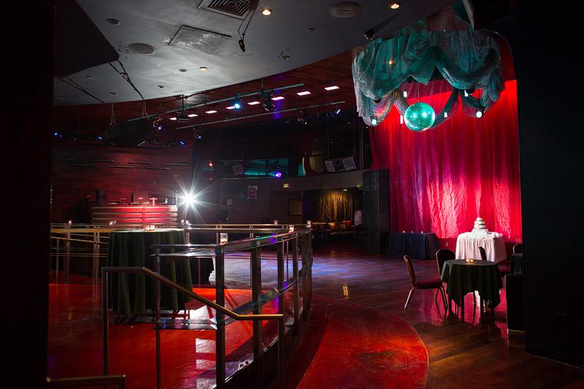 opal ultra lounge wedding reception photo