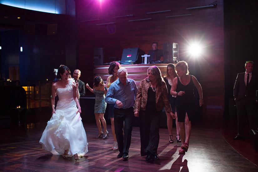 montbleu wedding reception at opal lounge
