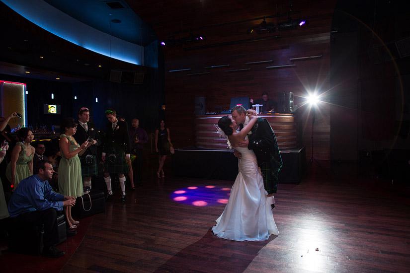 montbleu wedding reception in opal lounge