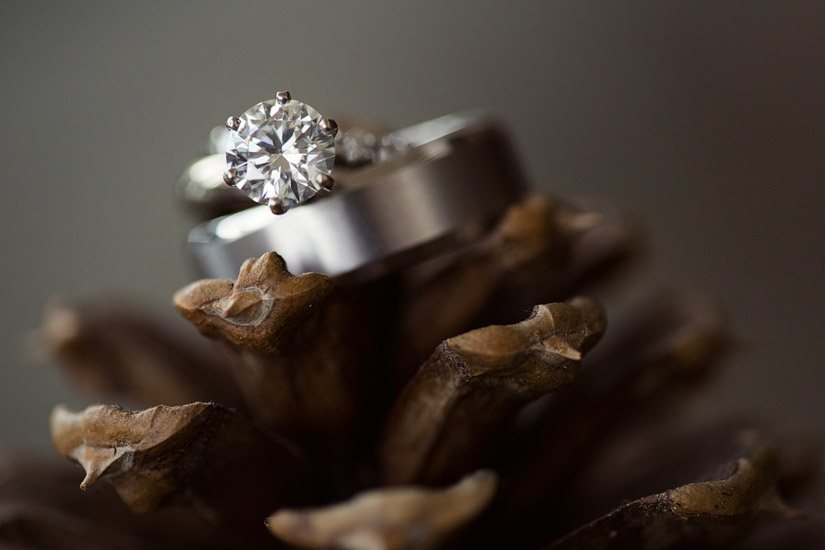 lake tahoe wedding rings
