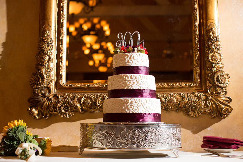 Placerville wedding cake photos