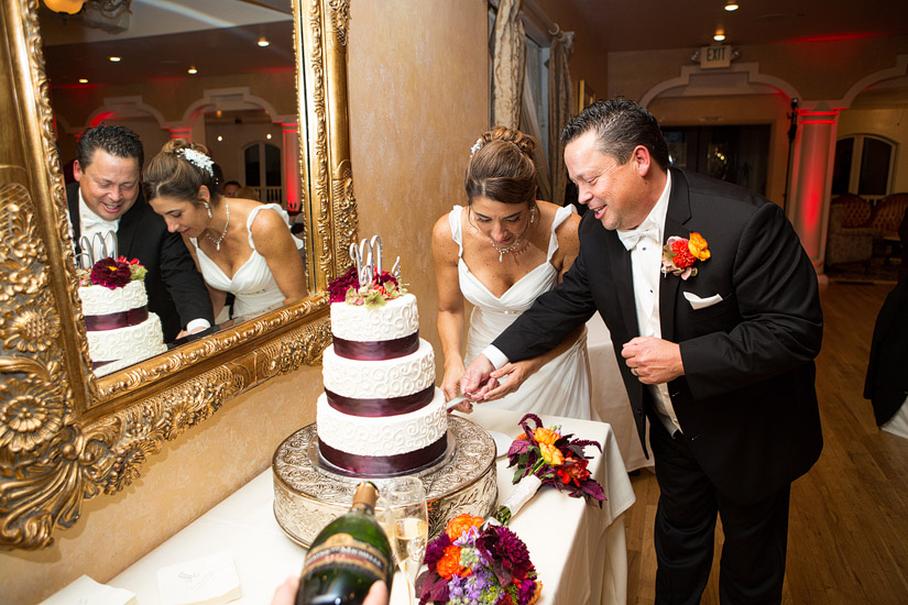wedgewood cake cutting