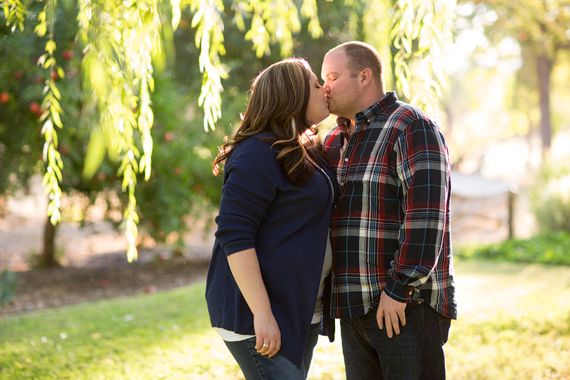 vacaville engagement photos of cute couple