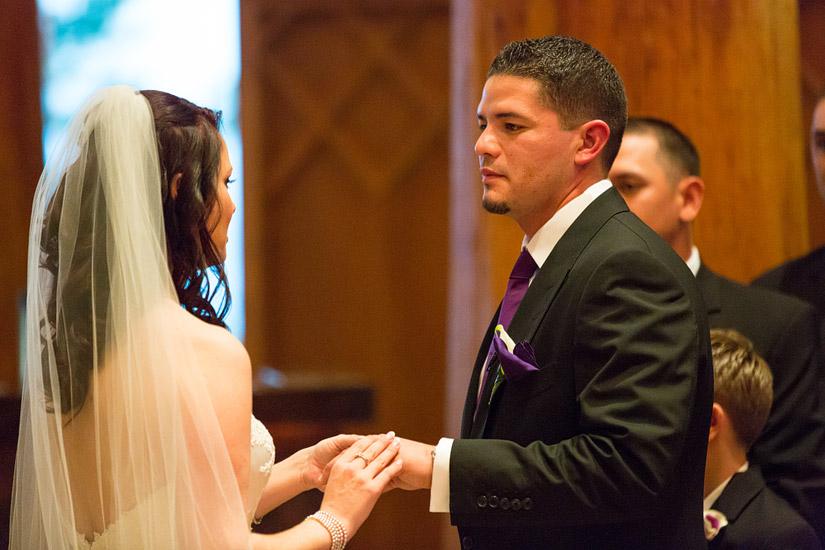lake tahoe winter wedding ceremony