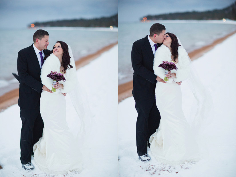 edgewood winter wedding photographer